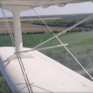 A început dezinsecția avio împotriva larvelor de țânțari în Dobroesti !