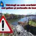 Hidrologii au emis avertizări cod galben şi portocaliu de inundaţii