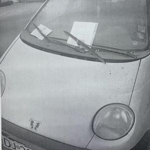 Automobil abandonat pe Str Drumul Gării – Urmeaza sa fie ridicat