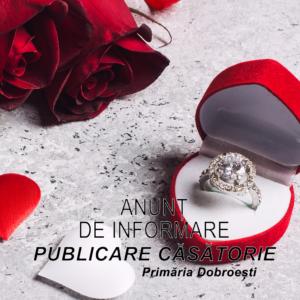 Publicatie casatorie UNTARU SORIN si OPREA IULIANA 2020