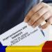 Sectie de votare la vechea scoala din Fundeni pentru alegerile parlamentare