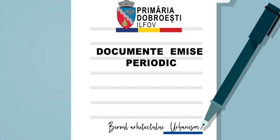 CERTIFICATE DE URBANISM – 12.04-16.04.2021